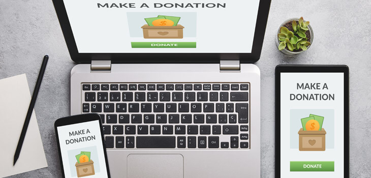 Donation Button or Page