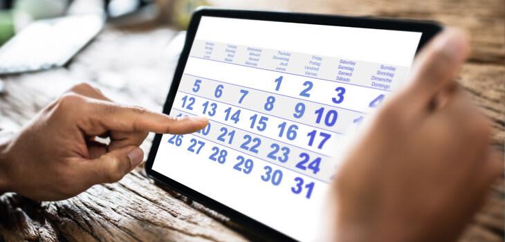 Event & Volunteer Calendar